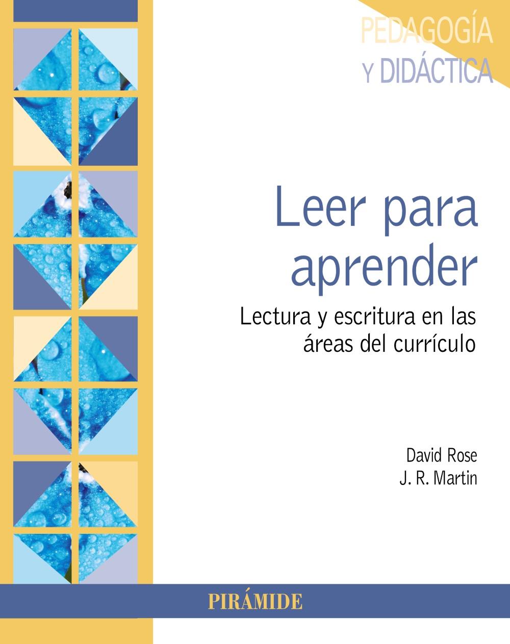 LEER PARA APRENDER: LECTURA Y ESCRITURA EN LAS AREAS DEL CURRICULO ...
