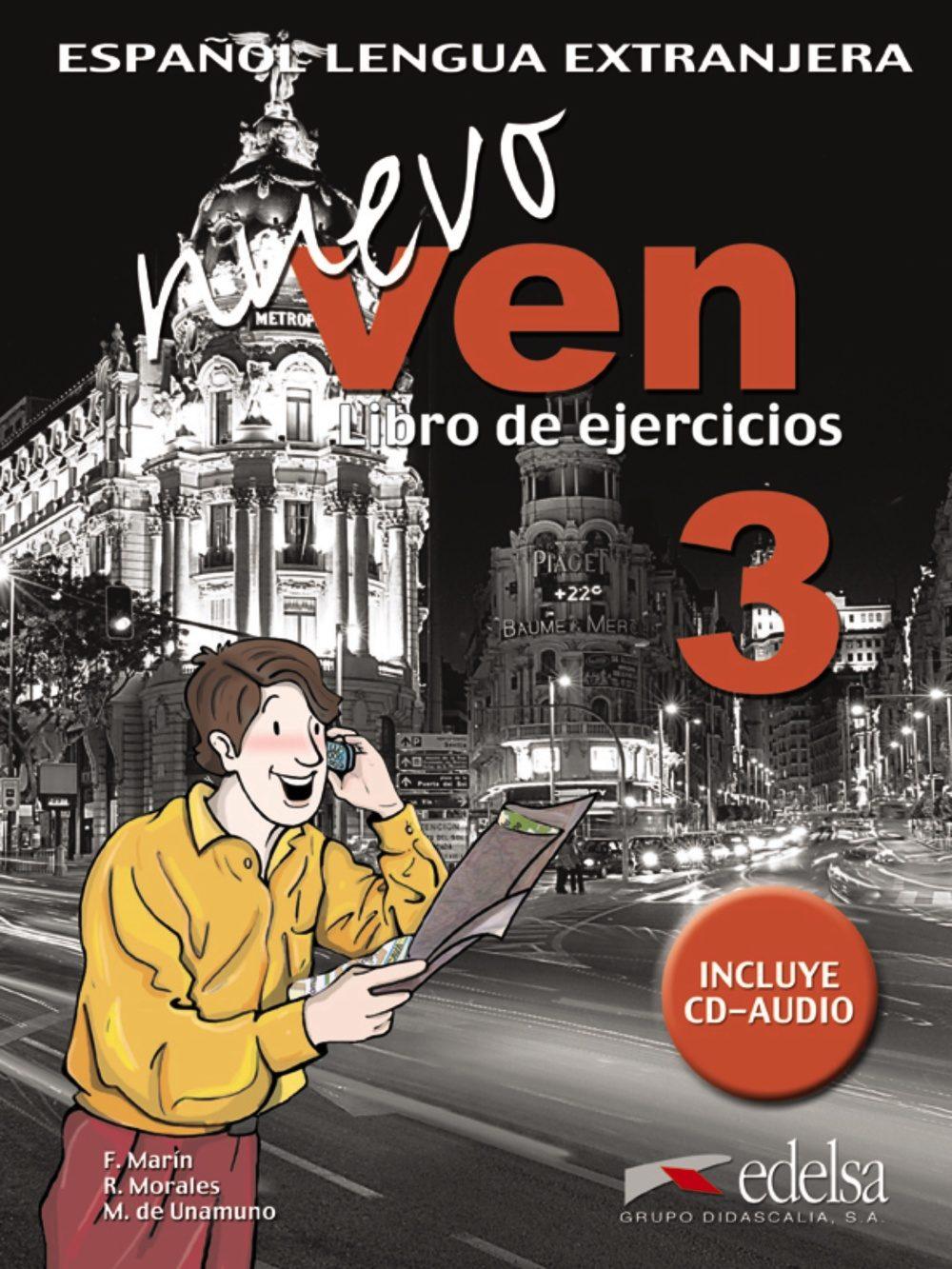 Nuevo Ven 3: Libro De Ejercicios (ele: Español Lengua Extranjera) (incluye Audio-cd) por Vv.aa.;                                                                                                                                                                                                                                   Fernando Mari epub