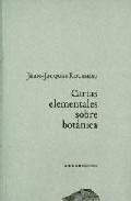 Cartas Elementales Sobre Botanica por Jean-jacques Rousseau epub