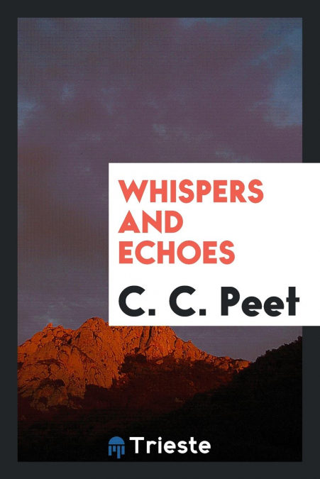 Descargar Epub Whispers And Echoes