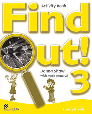 Find Out 3 Activity Book Pack (songs Cd+cdr) por Vv.aa.