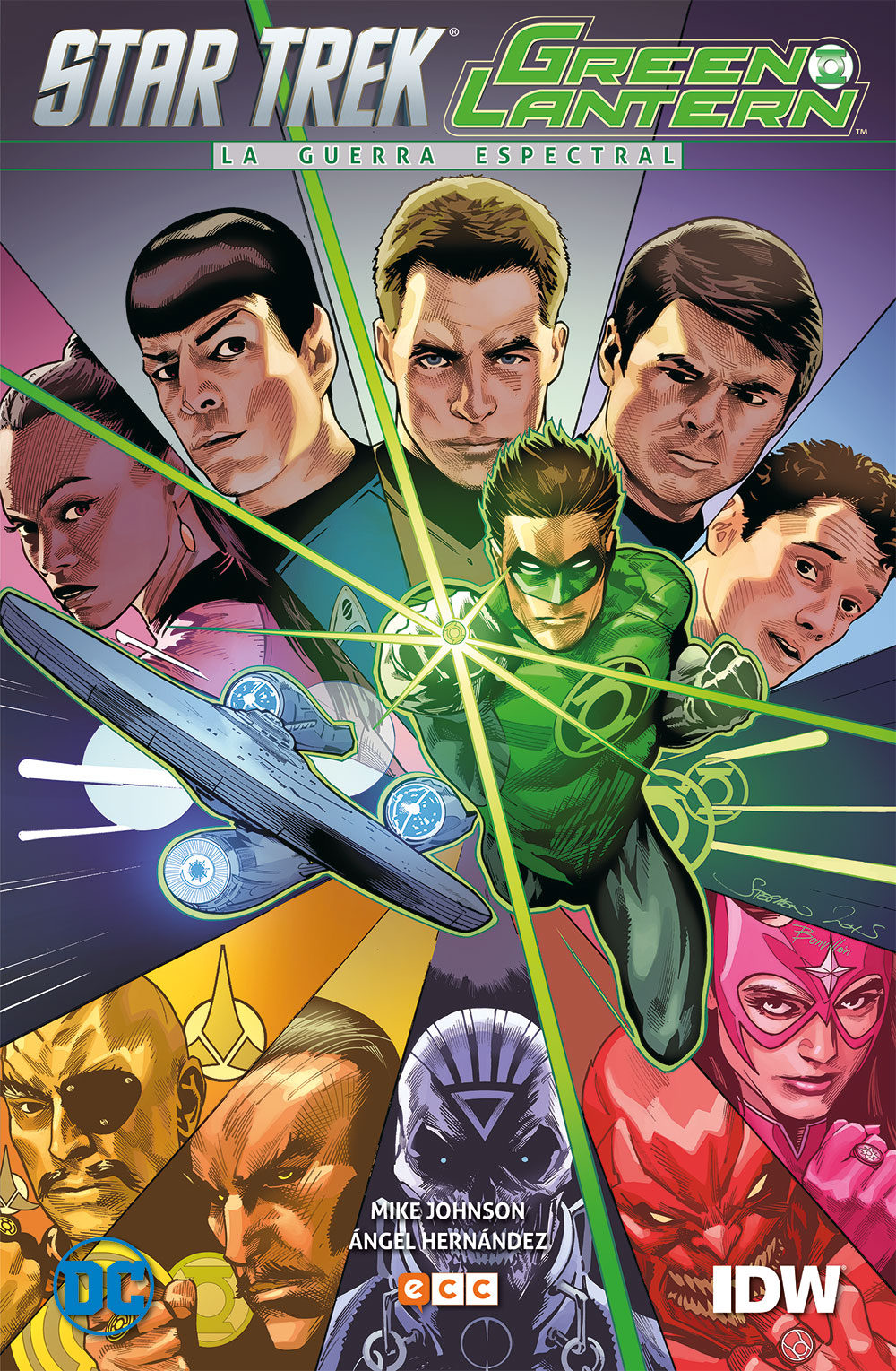 descargar GREEN LANTERN / STAR TREK: LA GUERRA ESPECTRAL pdf, ebook