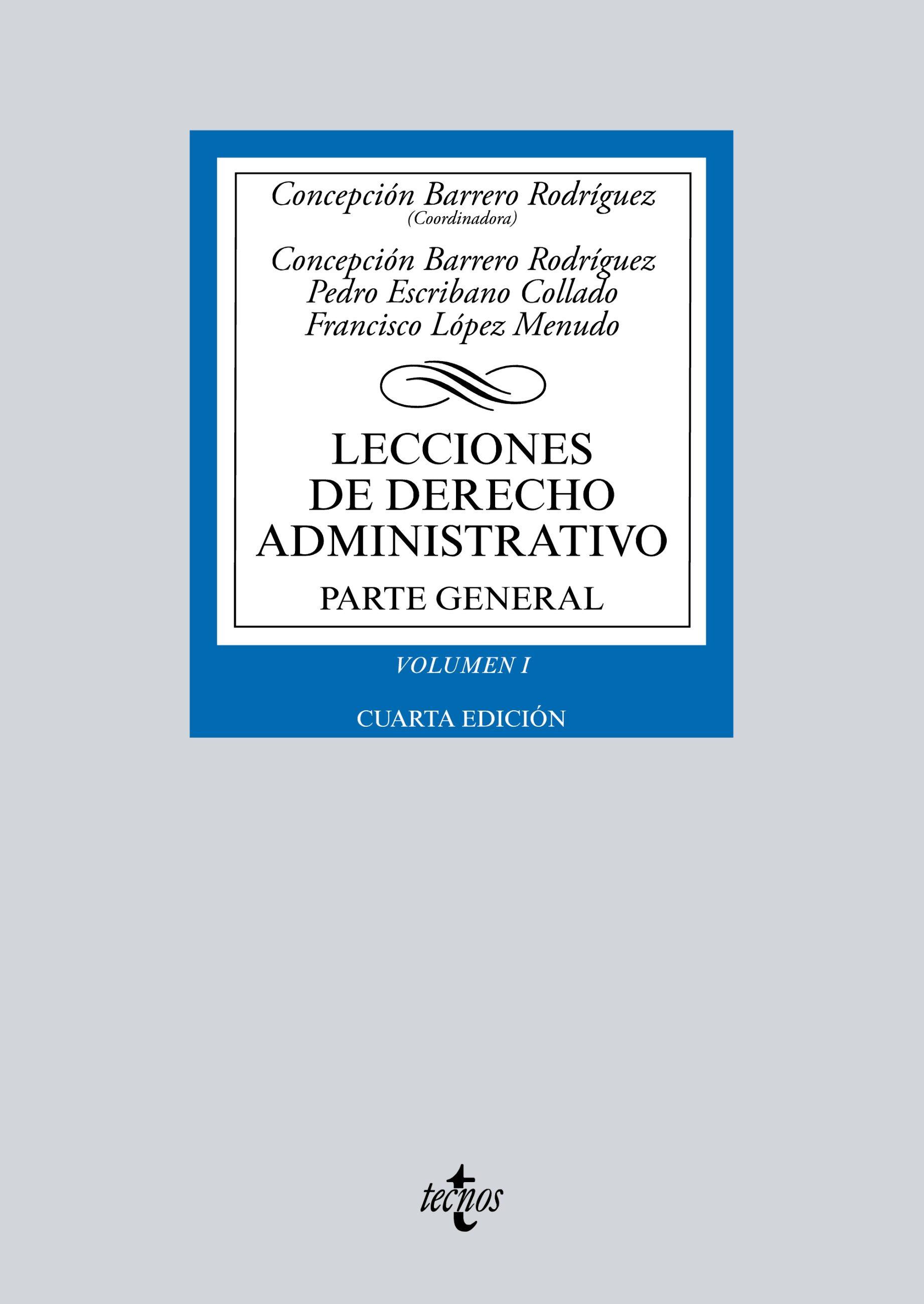 Lecciones De Derecho Administrativo   por Concepcion Barrero Rodriguez epub