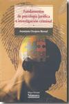Fundamentos De Psicologia Juridica E Investigacion Criminal por Anastasio Ovejero Bernal epub