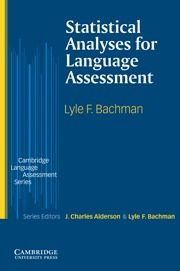 Statistical Analyses For Language Assessment por Lyle F. Bachman epub
