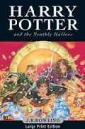 Harry Potter And The Deathly Hallows (large Print Ed.) por J.k. Rowling