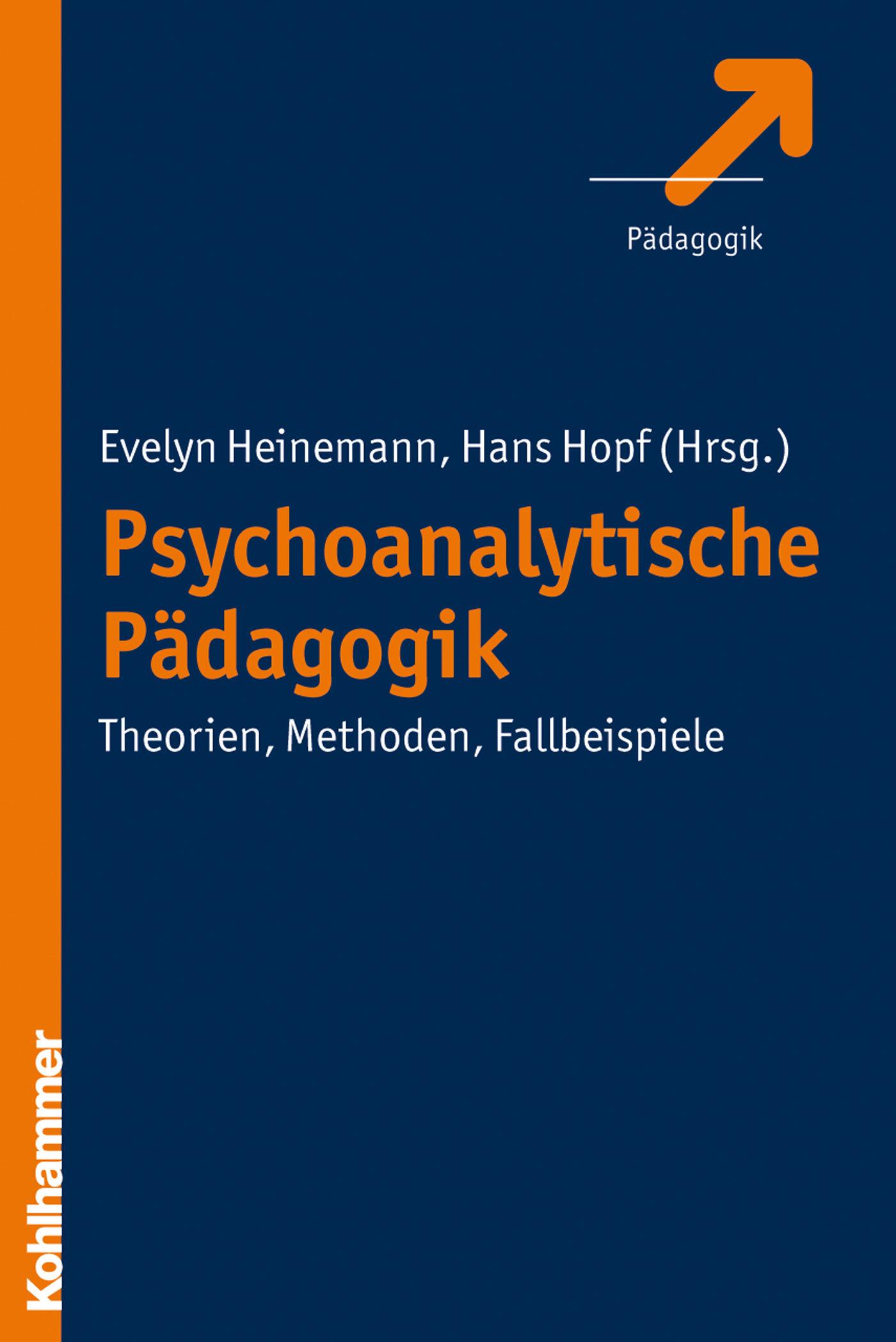 psychoanalytische pädagogik (ebook)-9783170277885