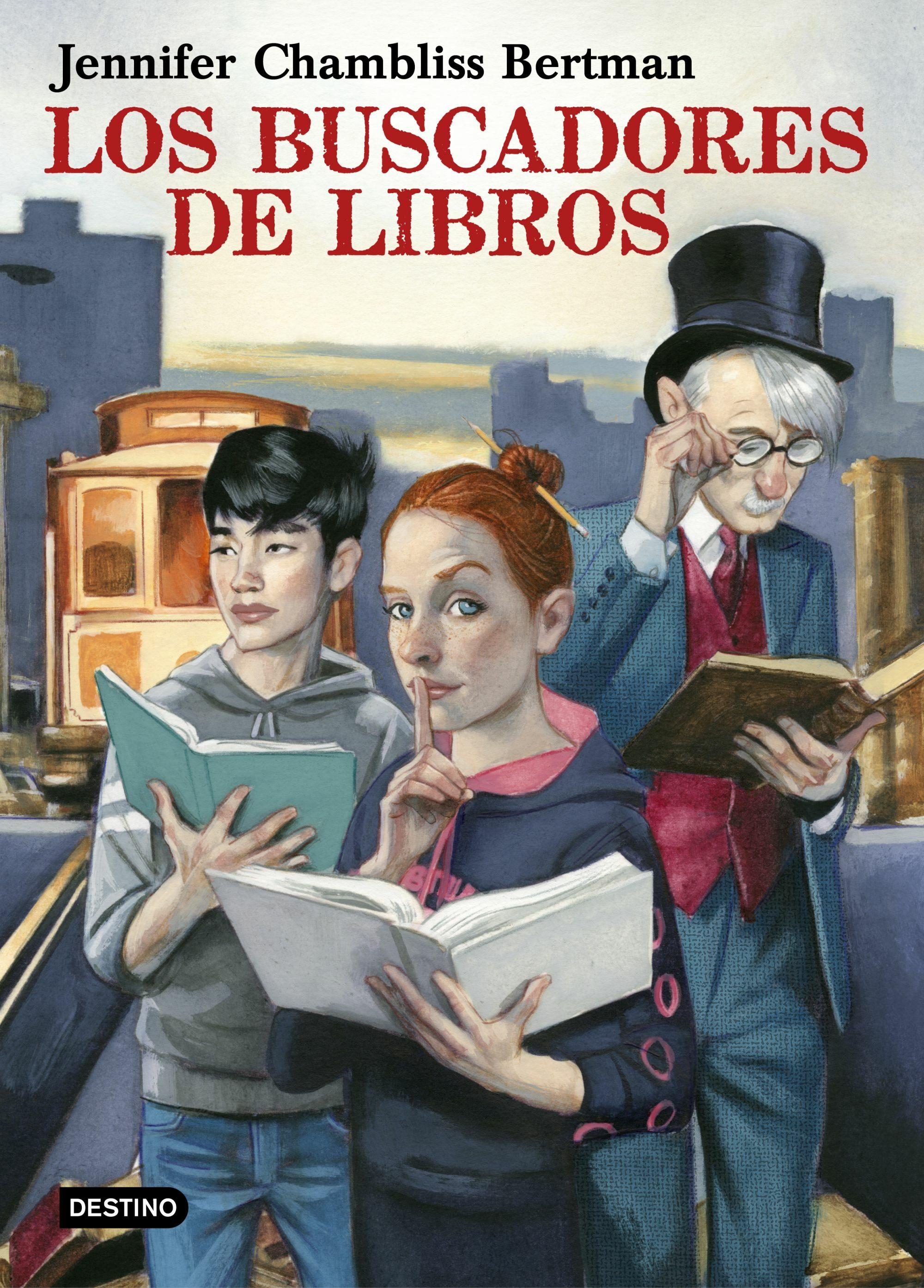 Los Buscadores De Libros por Jennifer Chambliss Bertman