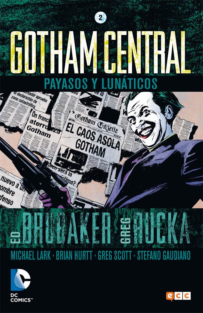 gotham central nº 2-ed brubaker-greg rucka-9788416409785