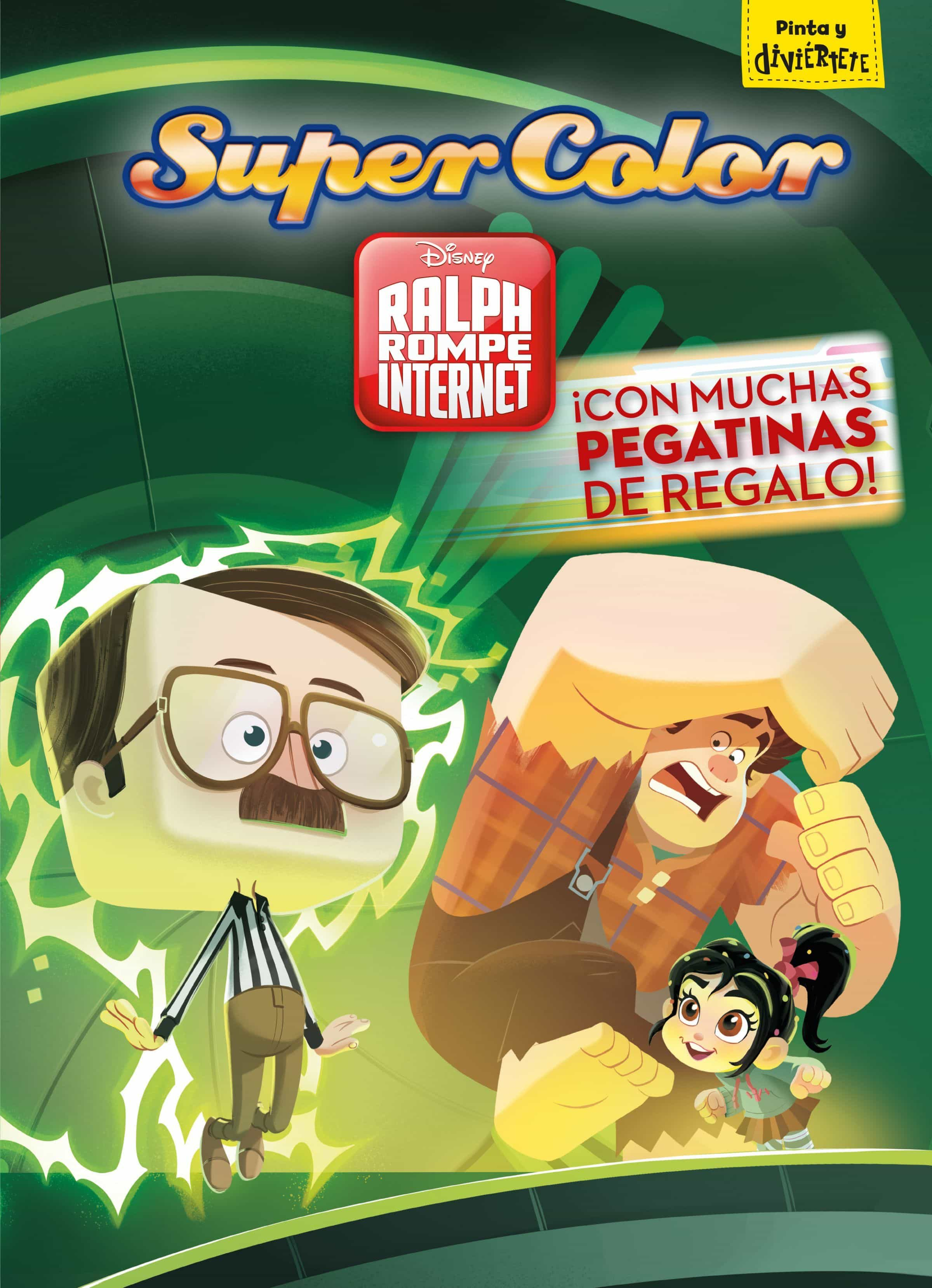 Ralph Rompe Internet. Supercolor por Disney