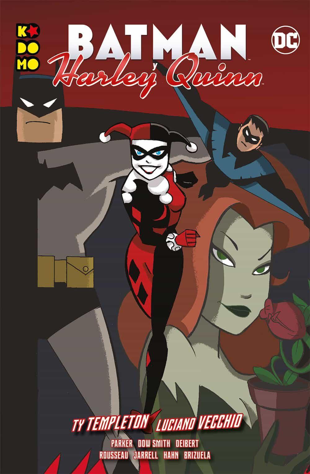 Batman Y Harley Quinn por Jeff Parker
