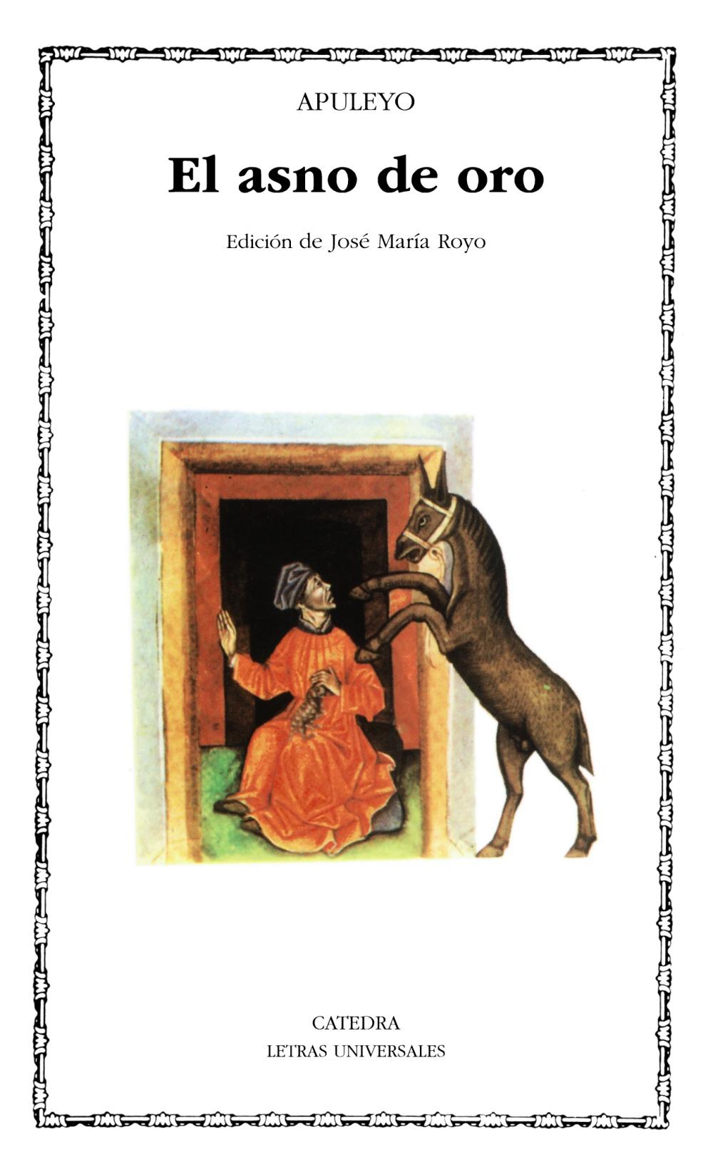 el asno de oro (5ª ed.)-lucio apuleyo-9788437605685
