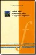 Estudios Sobre Disponibilidad Lexica En Los Jovenes Aragoneses por Maria Luisa Arnal Purroy