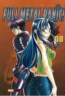 Full Metal Panic Nº 8 por Shouji Gatou;                                                                                                                                                                                                          Retsu Tateo