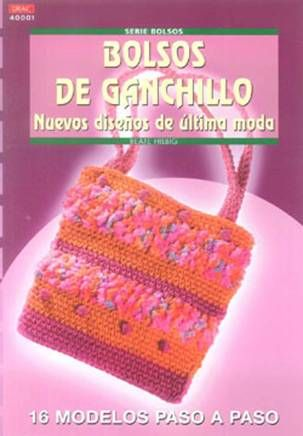 Bolsos De Ganchillo: Nuevos Diseños De Ultima Moda por Beate Hilbig