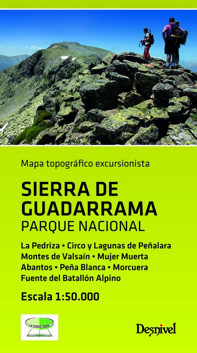 Mapa Topografico Excursionista Sierra De Guadarrama. Parque Nacio Nal por Vv.aa.
