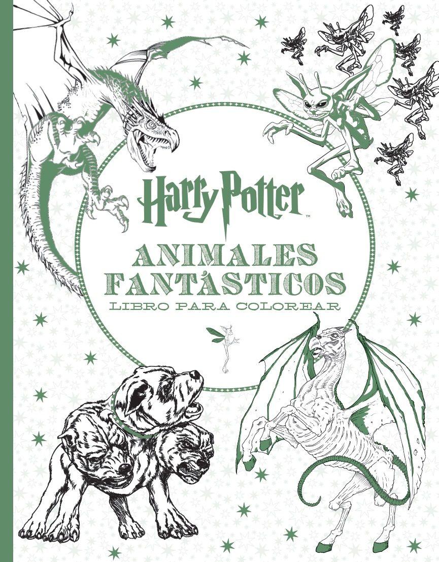 HARRY POTTER - ANIMALES FANTASTICOS LIBRO PARA COLOREAR   VV.AA ...