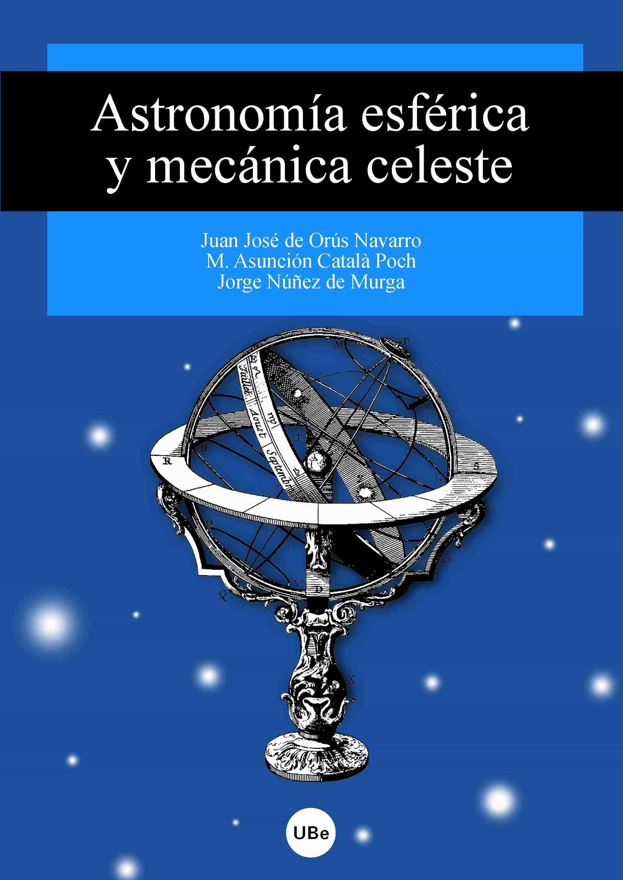 astronomia esferica y mecanica celeste-9788447530595