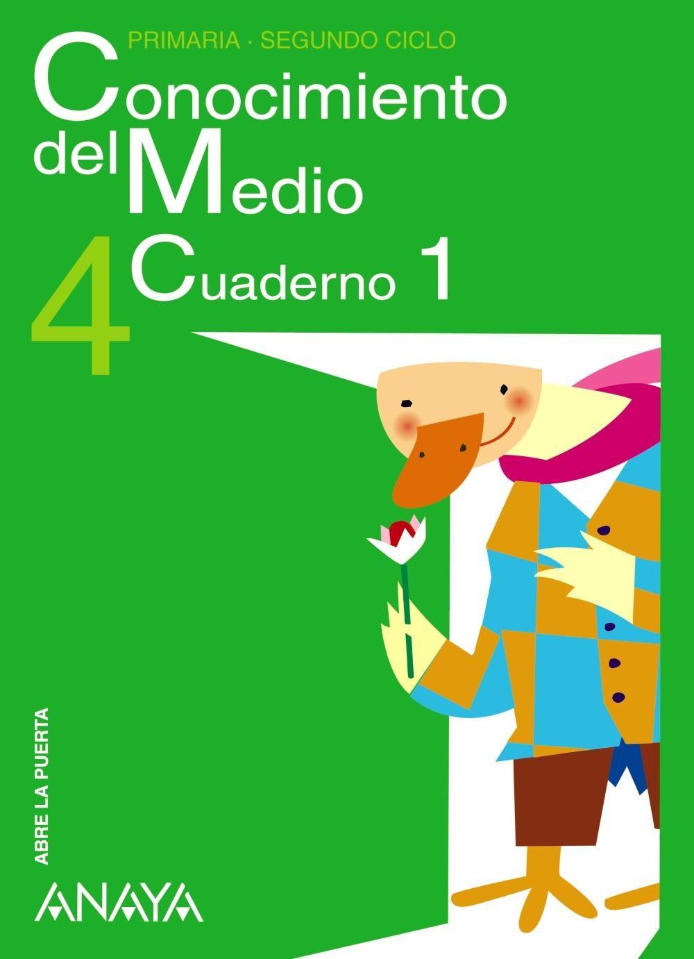 CONOCIMIENTO DEL MEDIO 4º EDUCACION PRIMARIA CUADERNO 1.   VV.AA ...