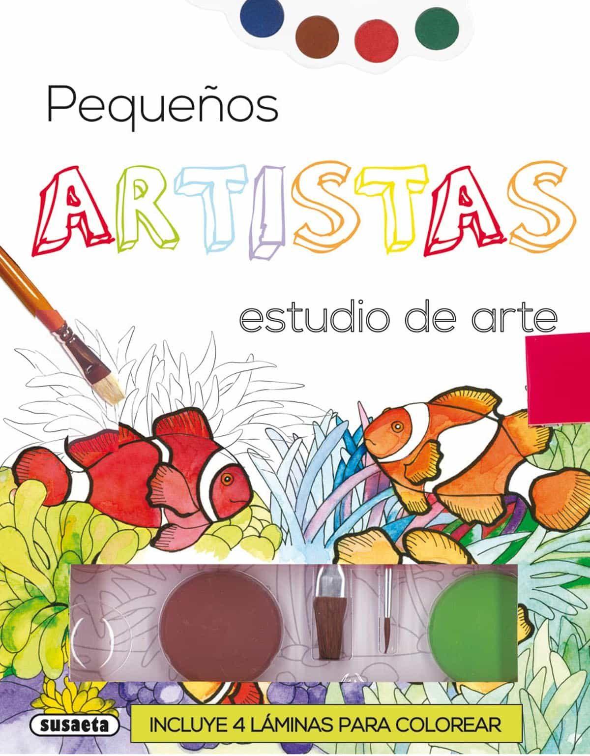 PEQUEÑOS ARTISTAS, ESTUDIO DE ARTE | VV.AA. | Comprar libro ...
