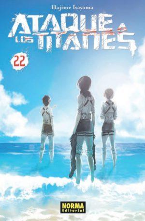 Ataque A Los Titanes 22 por Hajime Isayama
