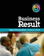 business result upper-intermediate: student s book with dvd-rom and online workbook pack-9780194739405
