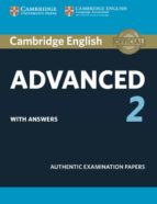 cambridge english: advanced (cae) 2 student s book with answers 9781316504505