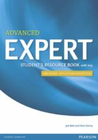 expert advanced 3rd edition student s resource book with key 9781447980605