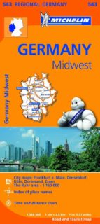 mapa regional germany midwest-9782067183605