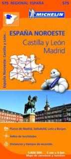 mapa regional castilla y leon, madrid-9782067184305