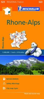 mapa regional rhone alpes-vv aa-9782067209305