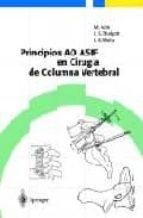 principios ao asif en cirugia de columna vertebral m. aebi 9783540432005