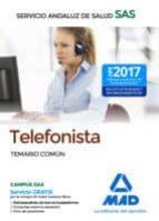 telefonista del servicio andaluz de salud. temario comun-9788414210505