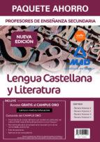 paquete ahorro lengua castellana y literatura cuerpo de profesores de enseñanza secundaria-9788414215005