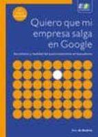 quiero que mi empresa salga en google (3ª ed.) sico de andres 9788415457305