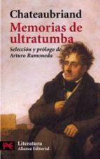 memorias de ultratumba françois rene de chateaubriand 9788420656205