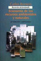economia de los recursos ambientales y naturales (2ª ed.) carlos romero 9788420668505