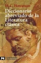 diccionario abreviado de la literatura clasica-9788420671505