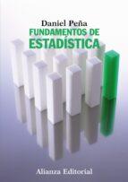 fundamentos de estadistica daniel peña sanchez de rivera 9788420683805