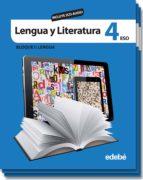 lengua y literatura 4º eso incluye cd audio-9788423699605