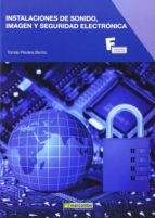 instalaciones de sonido, imagen y seguridad electronica-tomas perales benito-9788426721105