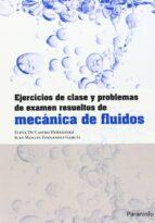 ejercicios de clase y problemas de examen resueltos de mecanica d e fluidos-elena de castro hernández-juan manuel fernandez garcia-9788428329705