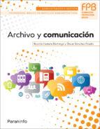 archivo y comunicacion 9788428335805