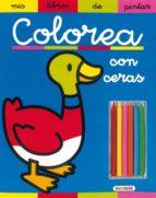 colorea con rotuladores (incluye 4 rotuladores de colores) 9788430541805