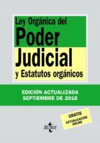 ley organica del poder judicial y estatutos organicos (34ª ed.) victor moreno catena 9788430975105