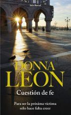 cuestion de fe donna leon 9788432228605