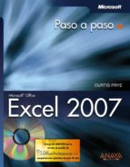 excel 2007 (paso a paso) (incluye cd-rom)-curtis frye-9788441521605