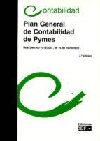 plan general de contabilidad de pymes-9788445433805