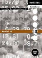 analisi iii (cataluña) 9788448915605