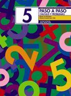 PASO A PASO 5. CALCULO Y PROBLEMAS: RESTA CON LLEVADAS